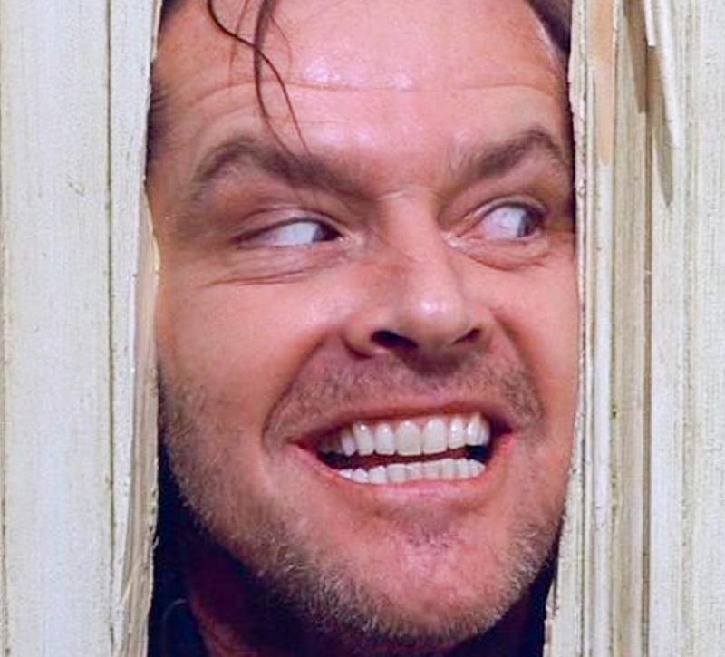 'The Shining' starring Jack Nicholson