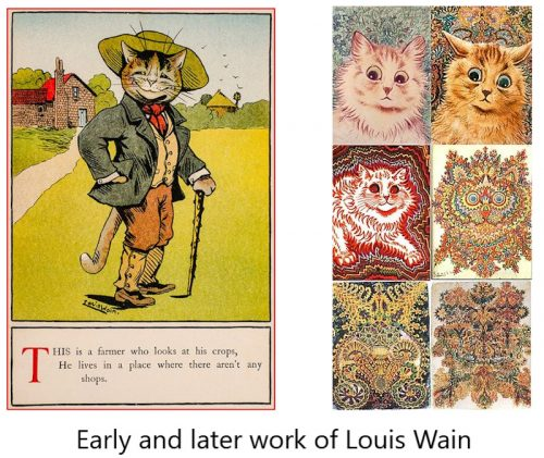 Louis Wain Illustrations