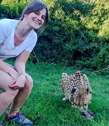 Woman attacked by captive cheetah