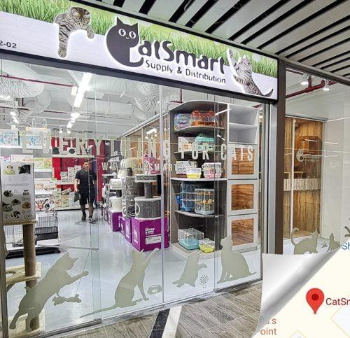 CatSmart store in Singapore