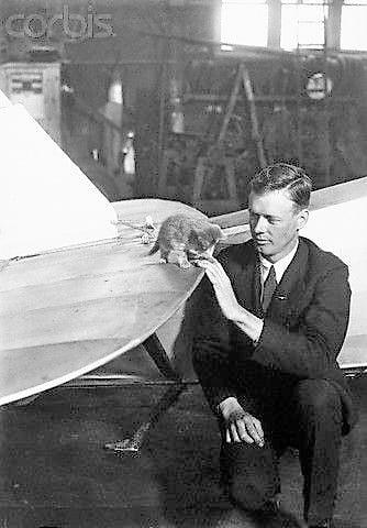 Charles Lindberg and Patsy