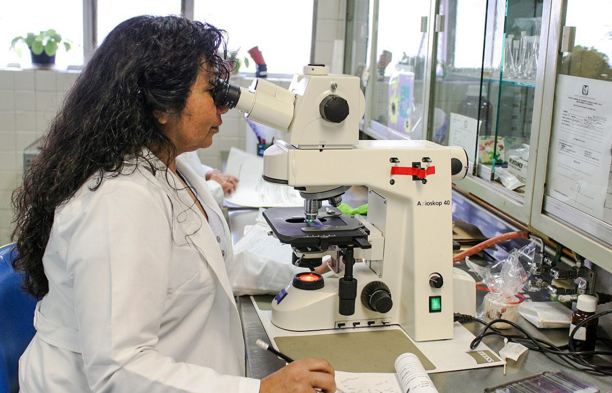 A testing laboratory. This is generic and not one of the labs listed