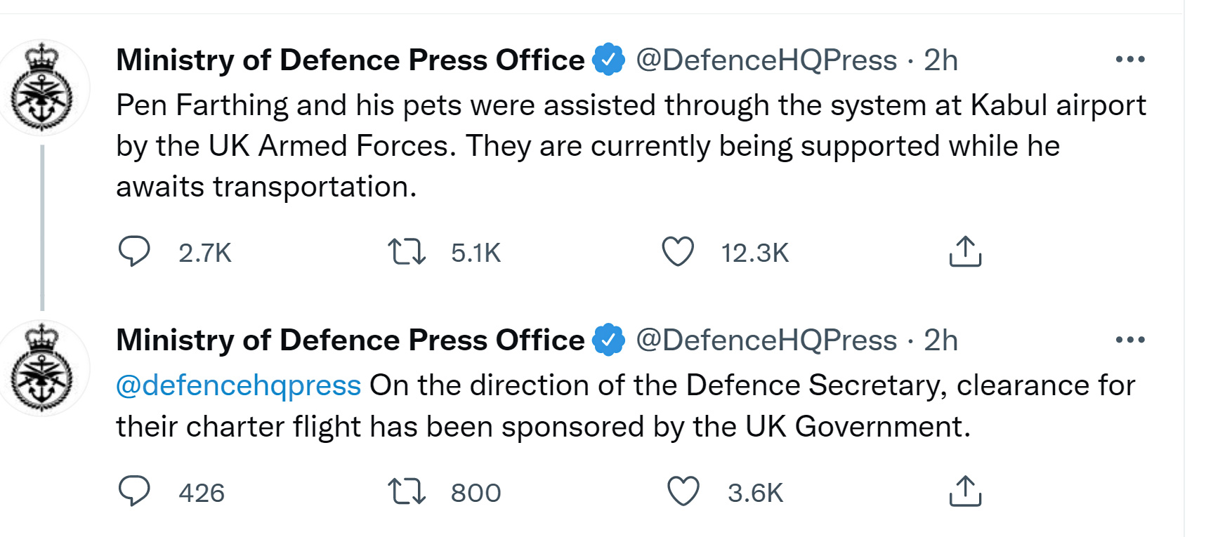 Nowzad animals and staff are cleared by UK government to evacuate to the UK
