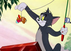 Tom from Tom and Jerry is a moggy