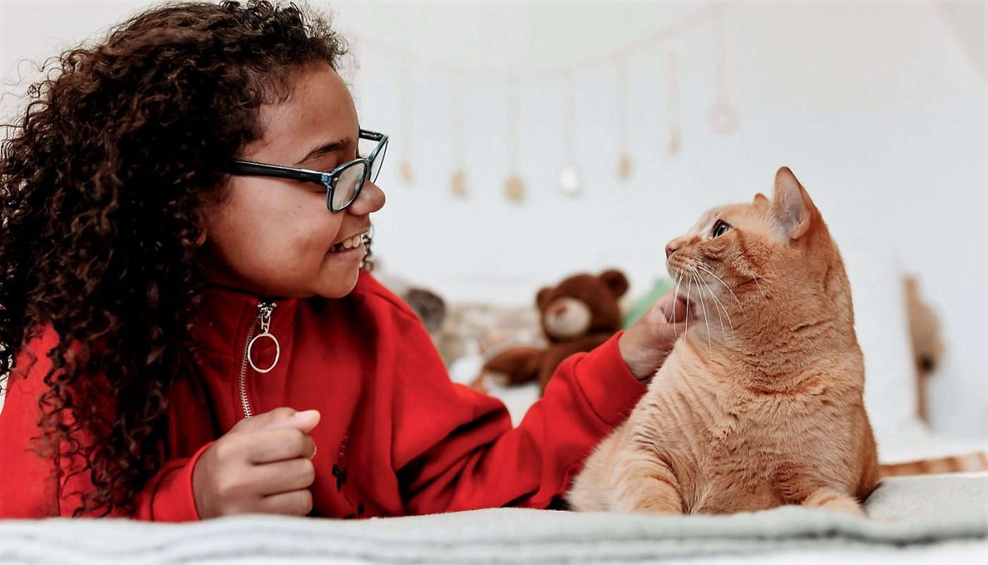 Well selected cats can benefit ASD kids and the cats cope well