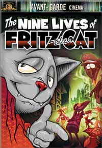 Nine lives of Fritz the Cat the movie