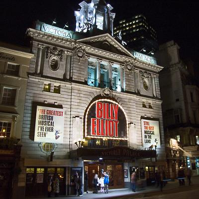 Victoria Palace Theatre, London - photo by chrisjohnbeckett (Flickr)
