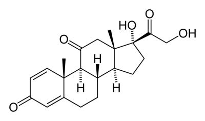 prednisone chemical structure