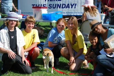 KAAC at  adoption event in July